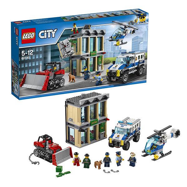 df1ed8aa32b ... LEGO City 60140 Конструктор Лего Город Ограбление на бульдозере ...