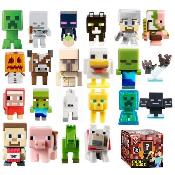 купить Mattel Minecraft Cjh36 майнкрафт фигурка персонажей в