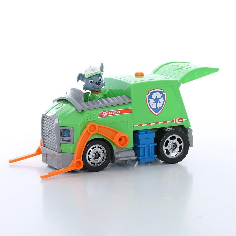 f32ebd3bc7be Paw Patrol 16637-g Щенячий патруль Большой автомобиль спасателя со звуком и  светом (Рокки)