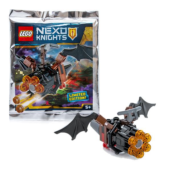 Lego Nexo Knights 271609 Конструктор Лего Нексо Летучая мышь с оружием, арт:146467 - LEGO, Конструкторы для мальчиков и девочек