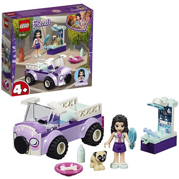 Купить Lego Friends 41360 Конструктор Лего Подружки Передвижная ветклиника Эммы, Конструкторы LEGO