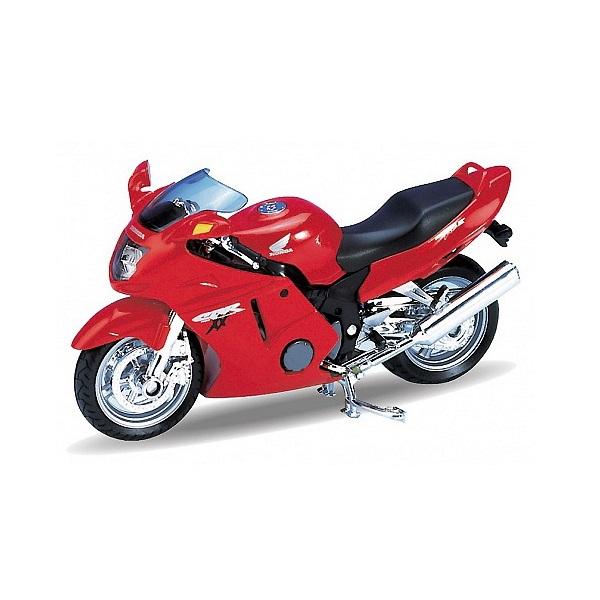 Купить Welly 12143P Велли Модель мотоцикла 1:18 HONDA CBR1100 XX, Мотоцикл Welly
