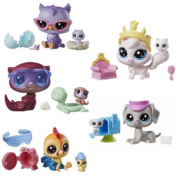 Игровые наборы и фигурки для детей Hasbro Littlest Pet Shop - Мини наборы, артикул:150862