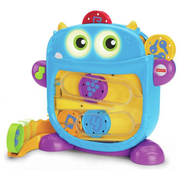 Mattel Fisher-Price DRG11 Фишер Прайс Голодный монстрик, Развивающие игрушки для малышей Mattel Fisher-Price  - купить со скидкой