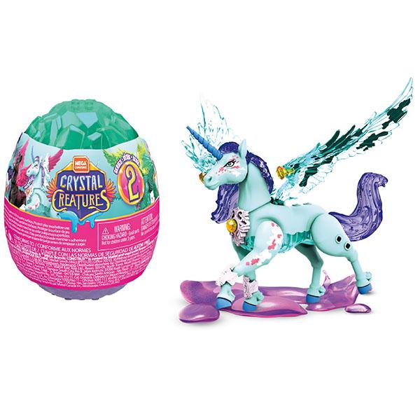 Купить Mattel Mega Bloks GLK07 Mega Construx Хрустальные существа в яйце (в ассортименте), Игровые наборы и фигурки для детей Mattel Mega Bloks