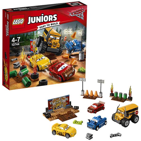 Lego Juniors 10744 Конструктор Лего Джуниорс Тачки Гонка Сумасшедшая восьмерка, арт:148586 - Джуниорс, Конструкторы LEGO