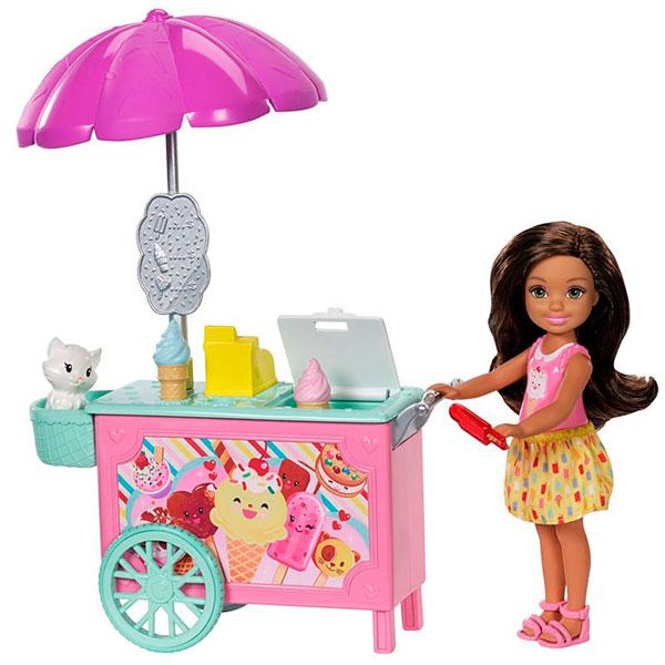 Купить Mattel Barbie FDB33 Барби Челси и набор мебели , Кукла Mattel Barbie