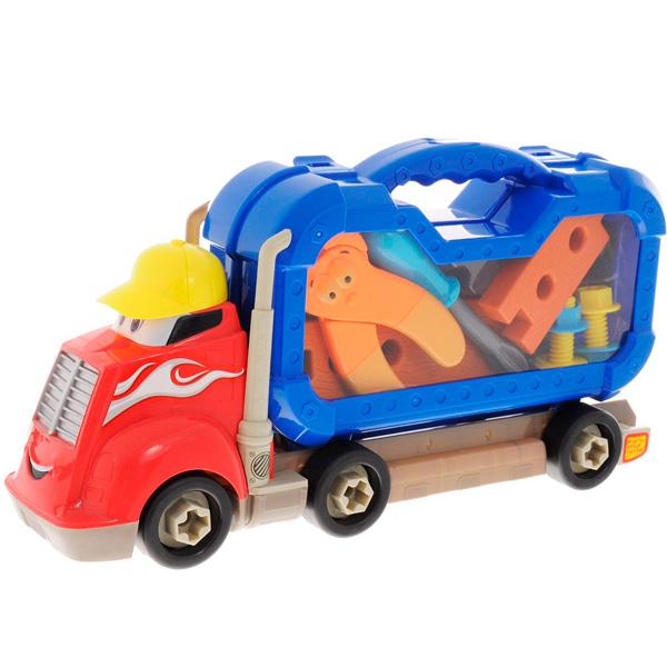 Boley 74817 Грузовик Смелый гонщик с машинками (в ассортименте) - Игрушки для малышей