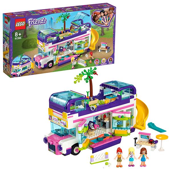 Купить LEGO Friends 41395 Конструктор ЛЕГО Подружки Автобус для друзей, Конструкторы LEGO
