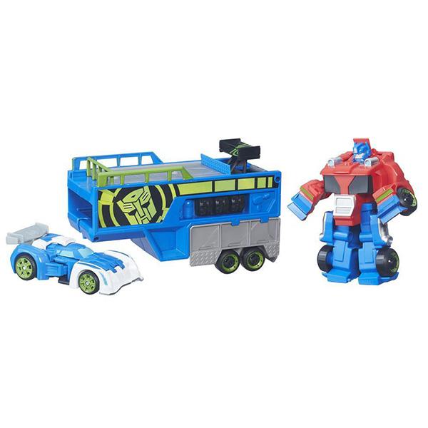Игровой набор Hasbro Playskool Heroes Playskool Heroes B5584 Трансформеры Спасатели: Гоночный комплект
