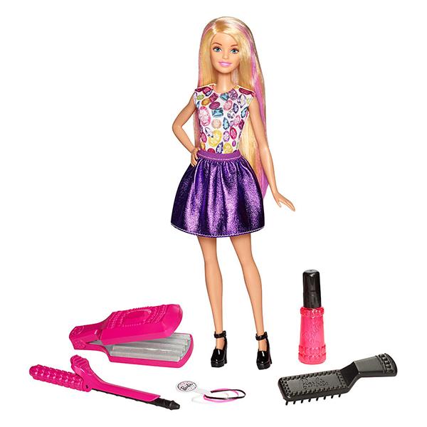 Купить Mattel Barbie DWK49 Барби Игровой набор Цветные локоны , Кукла Mattel Barbie
