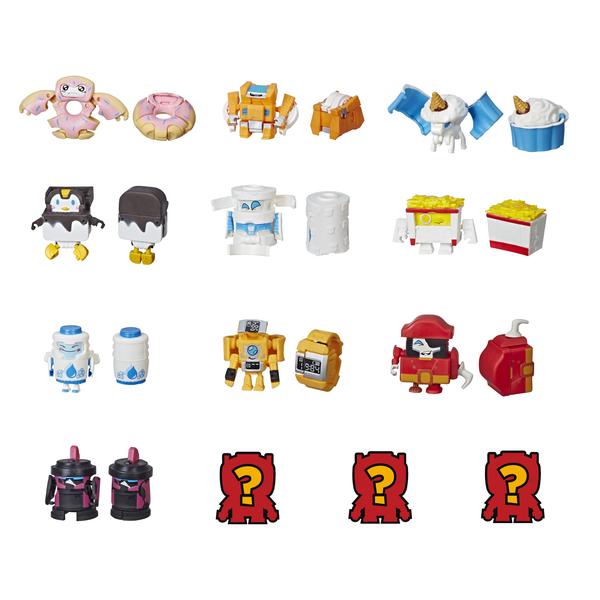 Купить Hasbro Transformers E3486 Игровой набор 5 трансформеров Ботботс (в ассортименте), Игрушечные роботы и трансформеры Hasbro Transformers