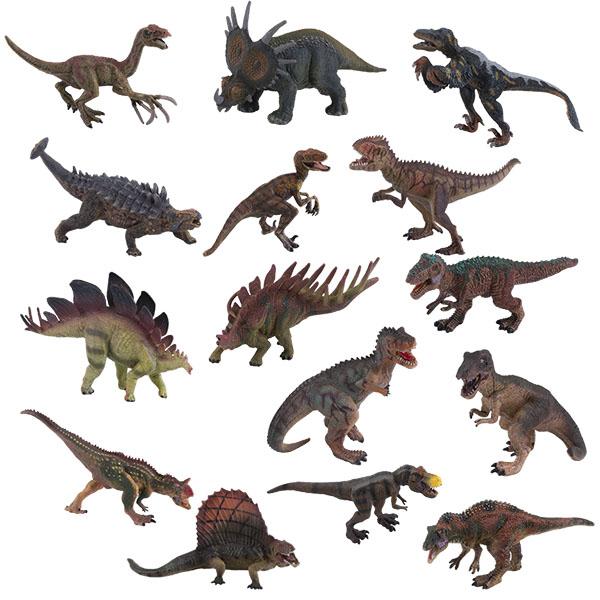 Купить Игрики ZOO TAV012 Фигурка Динозавр , 15 видов (в ассортименте), Игровые наборы и фигурки для детей Игрики ZOO