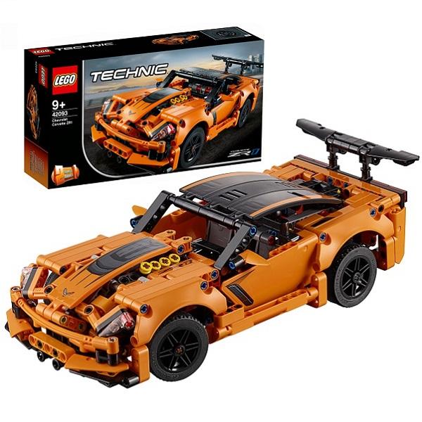 Купить LEGO Technic 42093 Конструктор ЛЕГО Техник Chevrolet Corvette ZR1, Конструкторы LEGO