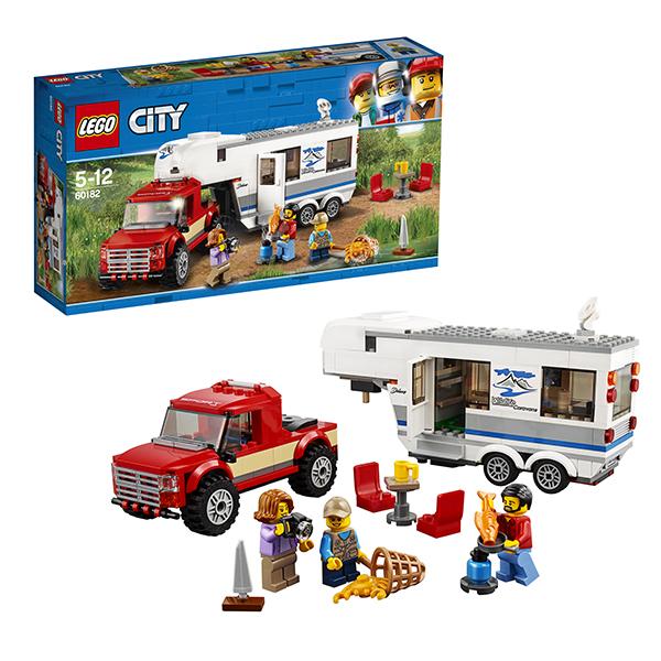 Купить LEGO City 60182 Конструктор ЛЕГО Город Дом на колесах, Конструкторы LEGO