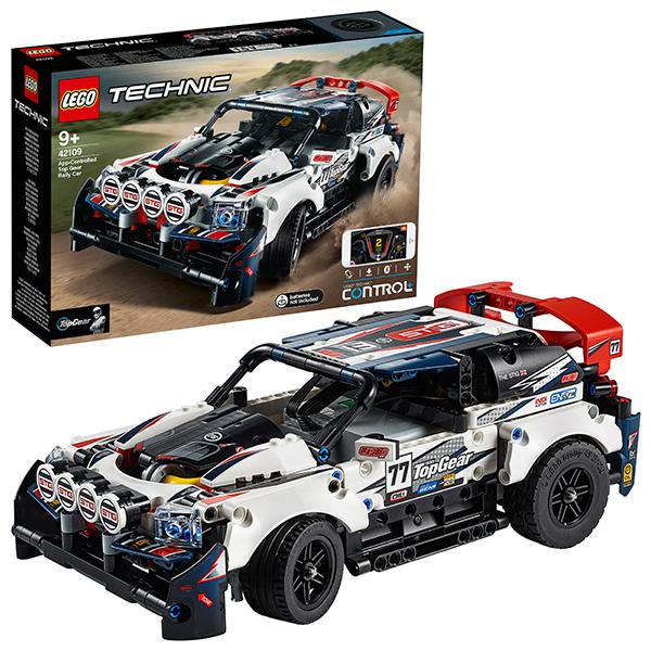 Купить LEGO Technic 42109 Конструктор ЛЕГО Техник Гоночный автомобиль Top Gear на управлении, Конструкторы LEGO
