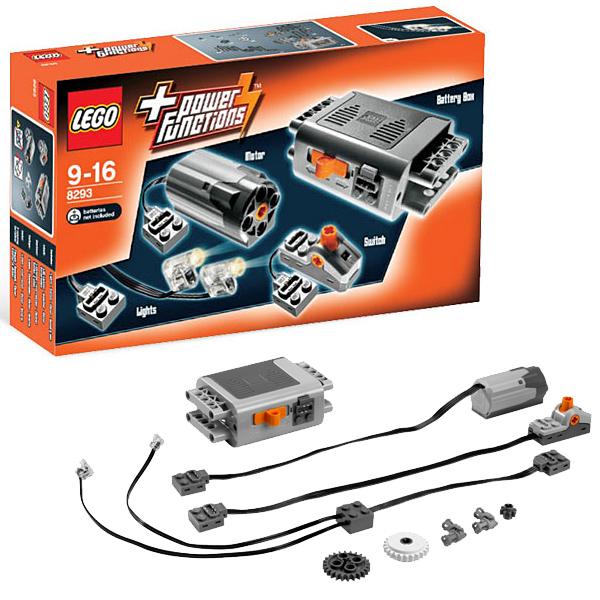 Купить LEGO Technic 8293 Конструктор ЛЕГО Техник Мотор Power Functions, Конструктор LEGO