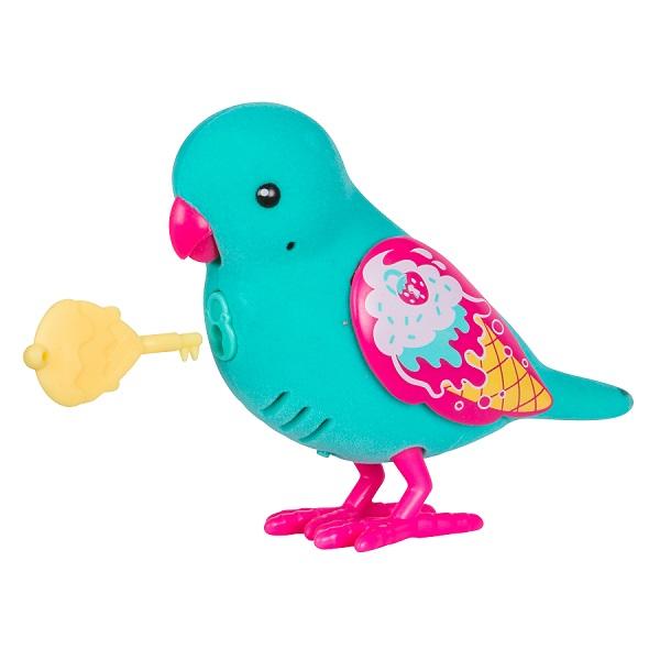 Little Live Pets 28394 Интерактивная птичка голубая - Интерактивные игрушки