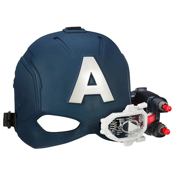 Игрушечное оружие Hasbro Avengers Avengers B5787 Электронный шлем Первого Мстителя