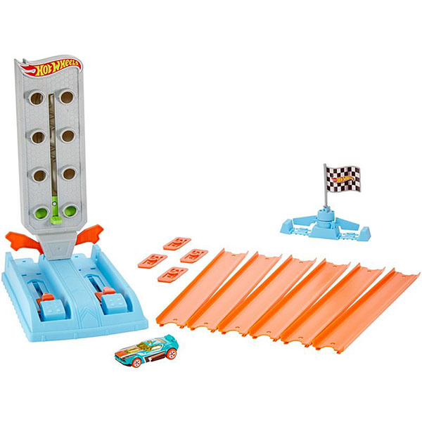 Купить Mattel Hot Wheels GBF82 Хот Вилс Гоночный игровой набор, Игровые наборы и фигурки для детей Mattel Hot Wheels