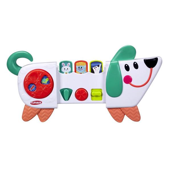 Купить Hasbro Playskool B4532 Возьми с собой Веселый Щенок, Развивающие игрушки для малышей Hasbro Playskool