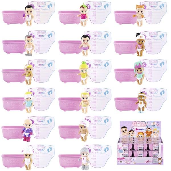 Zapf Creation Baby Secrets 930-236 Бэби Секрет Кукла с ванной, 2 волна ( в ассортименте), арт:155673 - Мини наборы, Игровые наборы