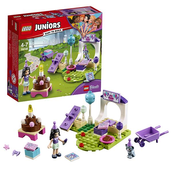 Купить Lego Juniors 10748 Лего Джуниорс Вечеринка Эммы для питомцев, Конструктор LEGO