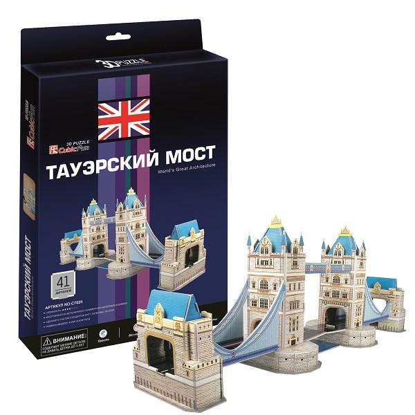 Купить Cubic Fun C702h Кубик фан Таэурский мост (Лондон), 3D пазлы Cubic Fun