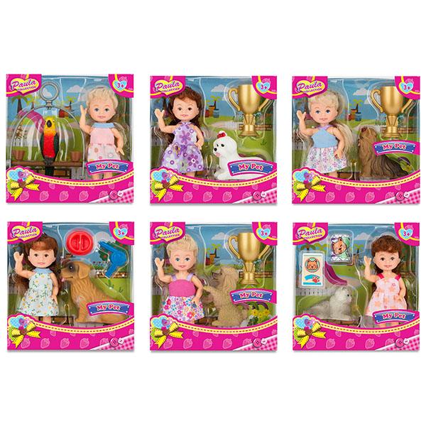 Купить Paula MC23004 Игровой набор С питомцем (в ассортименте), Игровые наборы и фигурки для детей Paula