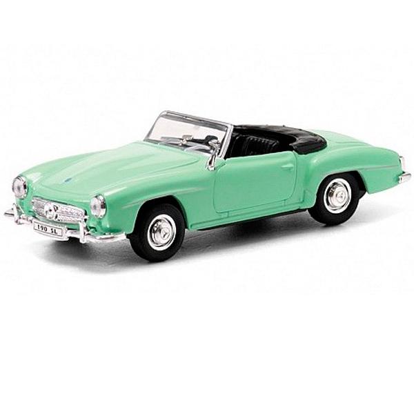 Купить Welly 42311 Велли Модель винтажной машины 1:34-39 Mercedes Benz 190SL 1955, Машинка инерционная Welly