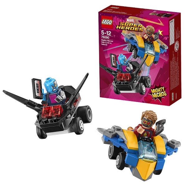 Lego Super Heroes Mighty Micros 76090 Конструктор Лего Супер Герои Звёздный Лорд против Небулы - Конструкторы LEGO