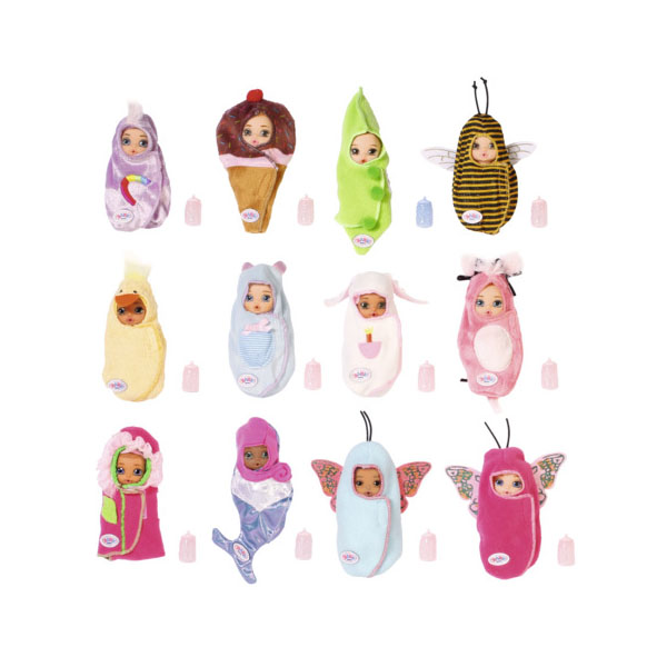 Купить Zapf Creation Baby Born Surprise 904-060 Бэби Борн Сюрпрайз Кукла, 1 серия (в ассортименте), Куклы и пупсы Zapf Creation