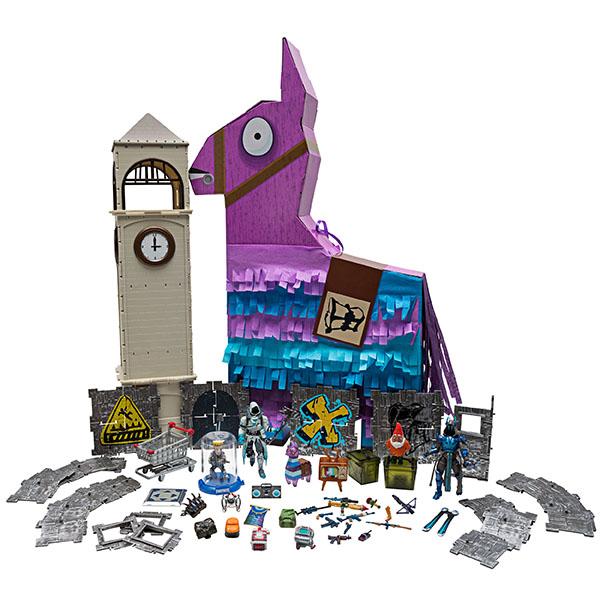 Купить Fortnite FNT0199 Большая Лама-пиньята с 100 аксессуарами, Игровые наборы и фигурки для детей Fortnite