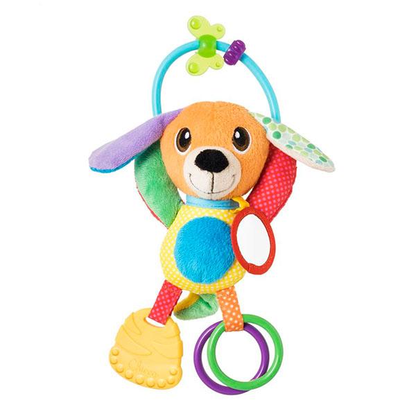 """Развивающие игрушки для малышей CHICCO TOYS CHICCO TOYS 9226AR Игрушка мягкая """"Щенок"""" по цене 779"""