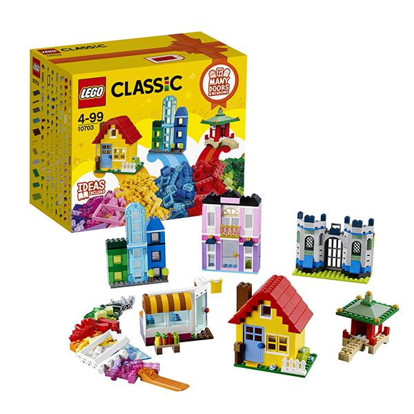 Lego Classic 10703 Конструктор Лего Классик Набор для творческого конструирования, арт:145761 - Классик , Конструкторы LEGO