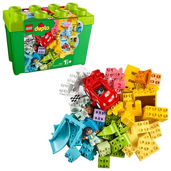 Купить LEGO DUPLO 10914 Конструктор ЛЕГО ДУПЛО Большая коробка с кубиками, Конструкторы LEGO
