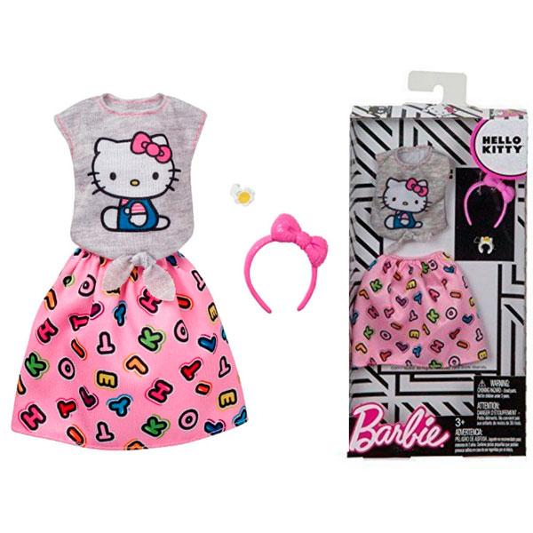 Mattel Barbie FKR66 Барби Универсальный полный наряд - коллаборации, Аксессуары для куклы Mattel Barbie  - купить со скидкой