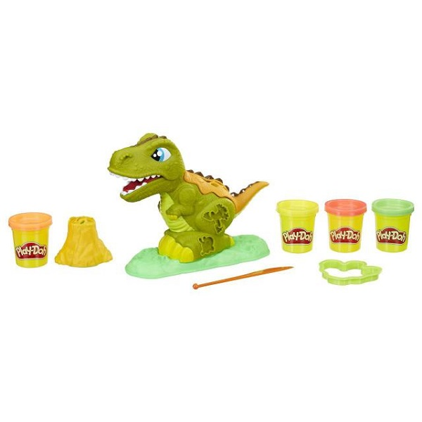 Купить Hasbro Play-Doh E1952 Набор Могучий Динозавр , Пластилин и масса для лепки Hasbro Play-Doh