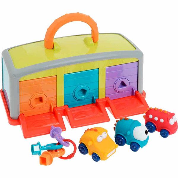 Купить LITTLE HERO 9015A Игровой центр Гараж для монстров , Развивающие игрушки для малышей LITTLE HERO