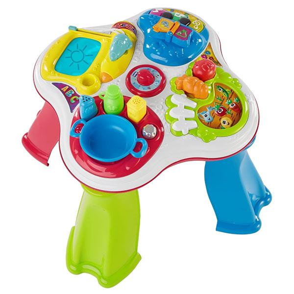 Купить CHICCO TOYS 7653AR Говорящий Столик (рус/англ), Развивающие игрушки для малышей CHICCO TOYS