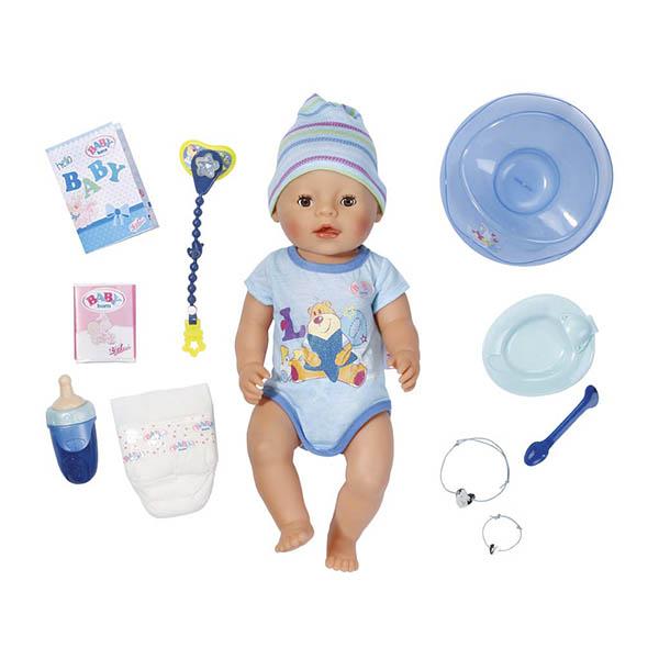 Купить Zapf Creation Baby born 822-012 Бэби Борн Кукла-мальчик Интерактивная, 43 см, Интерактивная кукла Zapf Creation