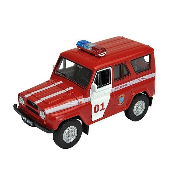 Купить Welly 42380FS Велли Модель машины 1:34-39 УАЗ 31514 Пожарная Охрана, Машинка инерционная Welly