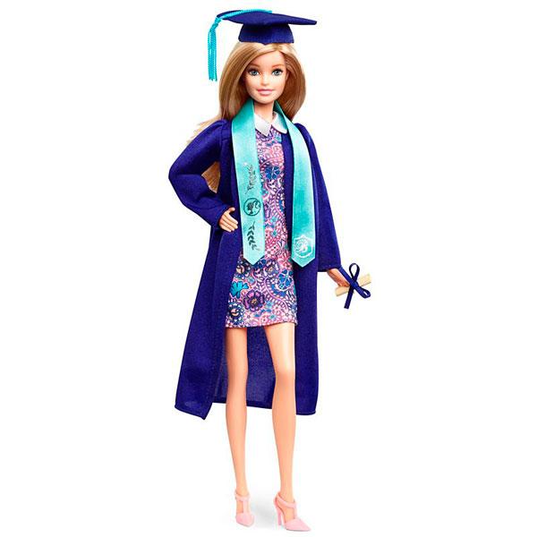 Купить Mattel Barbie FJH66 Барби Коллекционная кукла-выпускница, Кукла Mattel Barbie