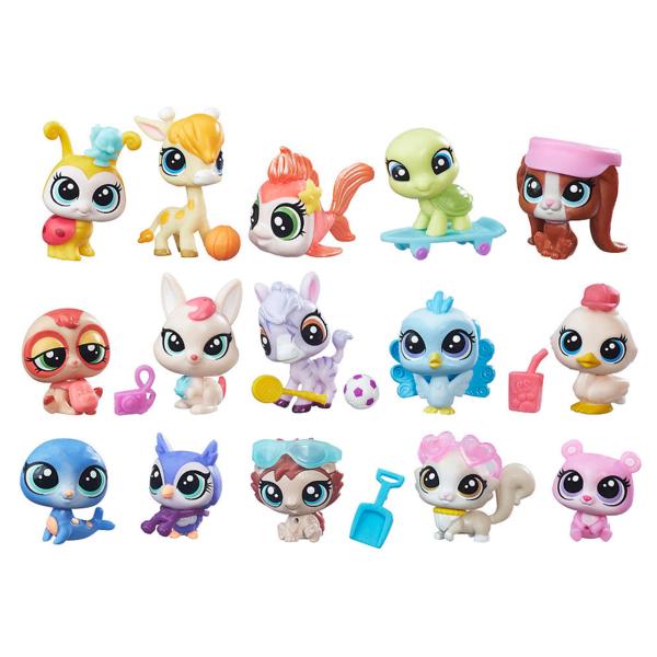 Купить Hasbro Littlest Pet Shop B6625 Литлс Пет Шоп Набор зверюшек - малышей, Набор фигурок Hasbro Littlest Pet Shop