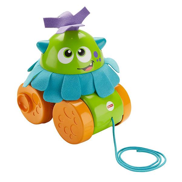 Купить Mattel Fisher-Price FHG01 Фишер Прайс Монстрик Играй и катай , Развивающие игрушки для малышей Mattel Fisher-Price