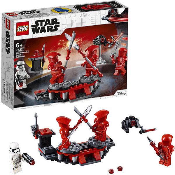 Купить Lego Star Wars 75225 Конструктор Лего Звездные войны Боевой набор Элитной преторианской гвардии, Конструктор LEGO