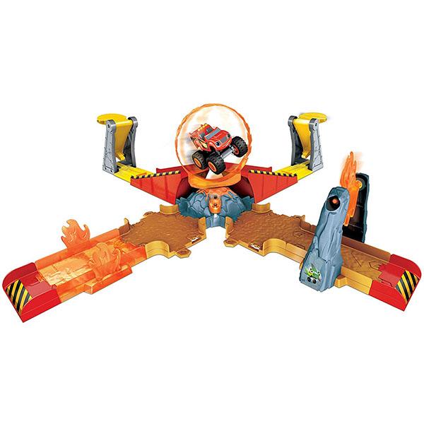 Купить Mattel Blaze DGK85 Игровой набор Прыжок через пылающий вулкан , Игровой набор Mattel Blaze