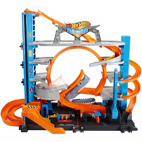 Купить Mattel Hot Wheels FTB69 Хот Вилс Сити Невообразимый гараж, Игровые наборы Mattel Hot Wheels