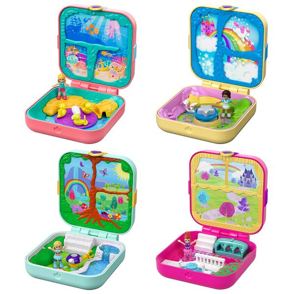 Купить Mattel Polly Pocket GDK76 Мини-мир (в ассортименте), Игровые наборы и фигурки для детей Mattel Polly Pocket