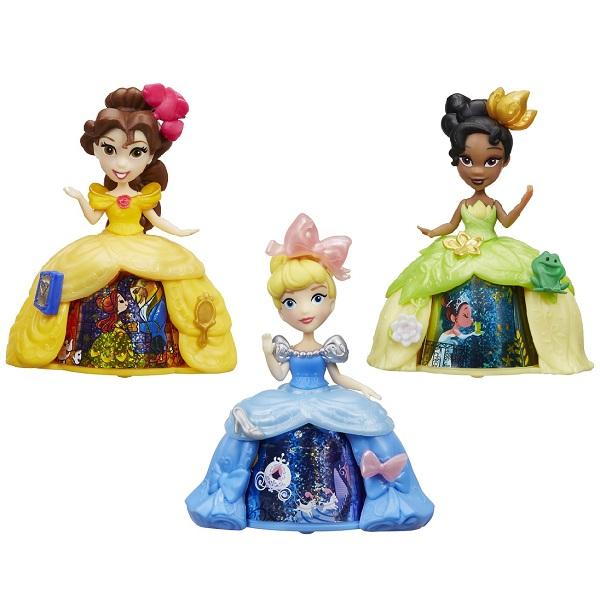 Купить Hasbro Disney Princess B8962 Маленькая кукла с волшебной юбкой (в ассортименте), Игровые наборы и фигурки для детей Hasbro Disney Princess